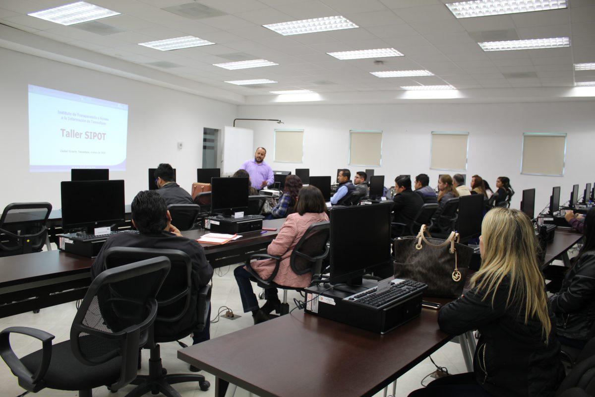 Segundo taller de capacitación sobre SIPOT.